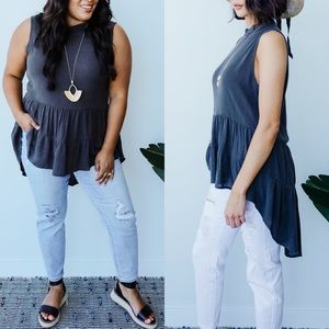 Highs & Lows Sleeveless Top